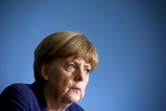 German Chancellor Angela Merkel (Reuters/Thomas Peter)
