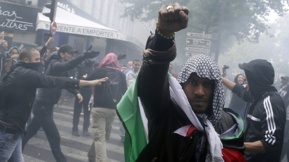 France 'bans pro-Palestinian rallies' as tensions increasingly mirror Israel-Gaza animosity