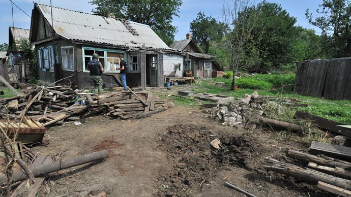 'Father was lying on the porch with his arm blown off' – eyewitness to Ukraine's shelling