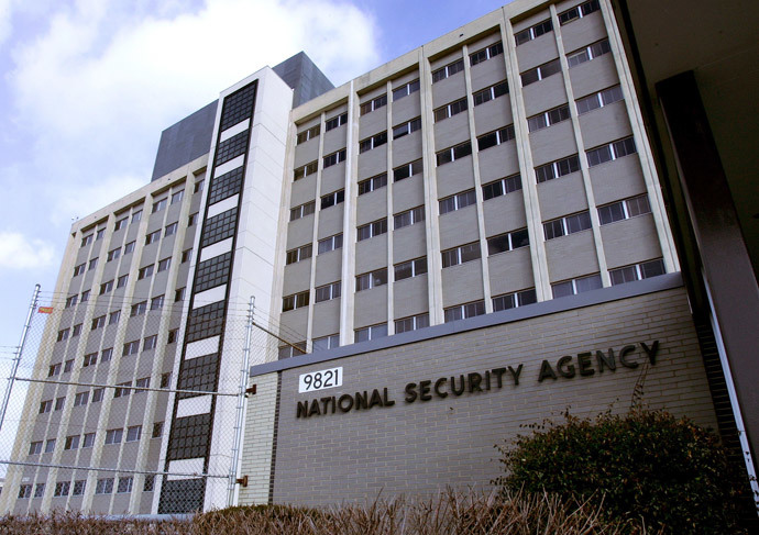 View of the National Security Agency (NSA) in the Washington.(AFP Photo / Paul J. Richards)