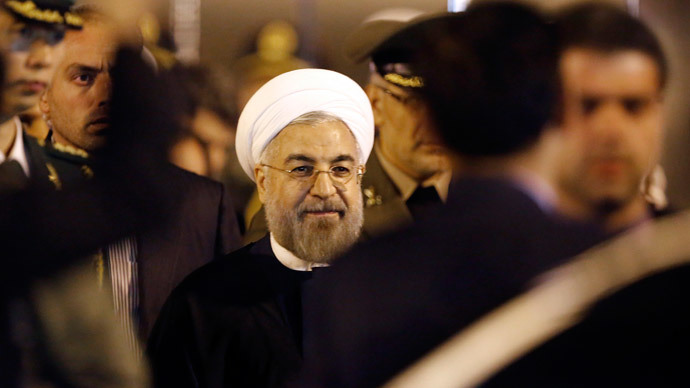 Iran's President Hassan Rouhani.(Reuters / Carlos Barria)