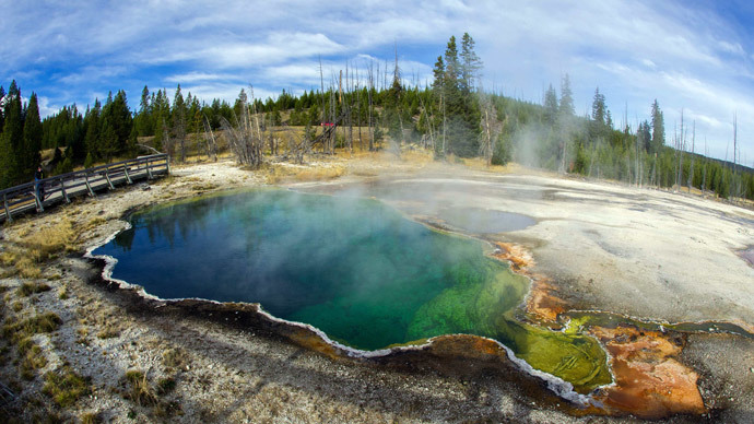 Yellowstone National Park.(AFP Photo / Karen Bleier)