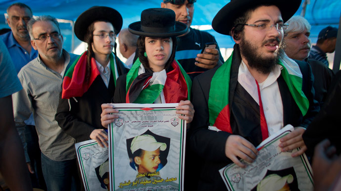 3 Israelis say they killed Palestinian teen 'in revenge'
