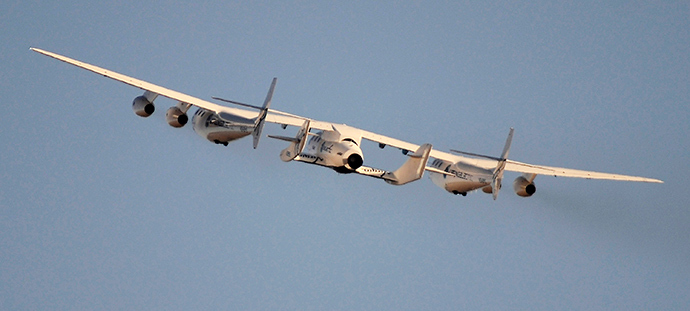 Virgin Galactic's SpaceShipTwo (Reuters / Gene Blevins)