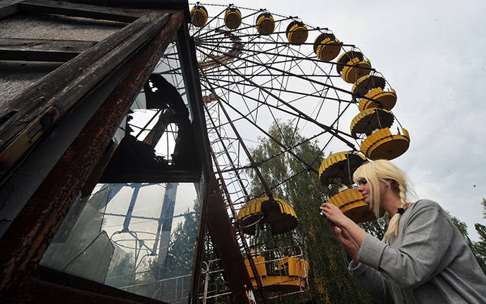 Pripyat, near the Chernobyl nuclear power plant (AFP Photo / Genya Savilov)