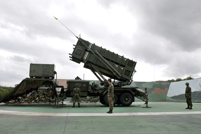 Patriot Advanced Capability-2 anti-missile launcher (Reuters / Richard Chung)