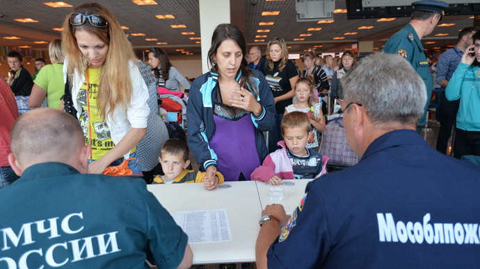Russia offers extended visa-free stay to Ukrainian refugees