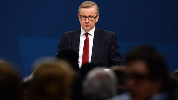 Gove goes from education post to chief whip