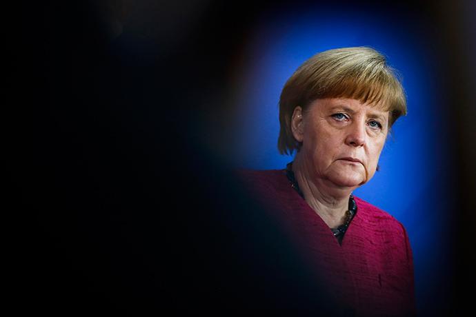 German Chancellor Angela Merkel (Reuters / Thomas Peter)