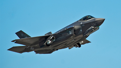 Air Force repaints its trucks because of F-35s