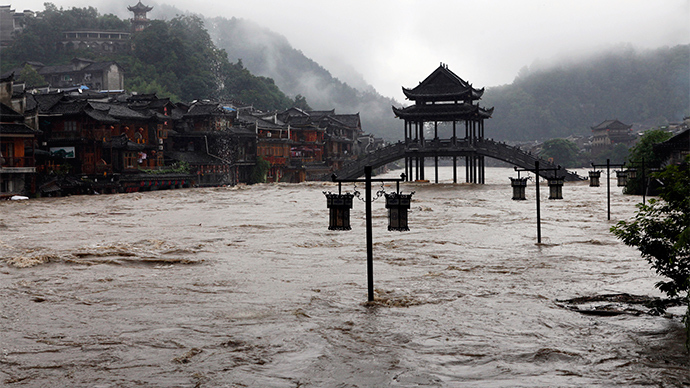Heavy rainfall, flooding distress over 1mn in China (PHOTOS)