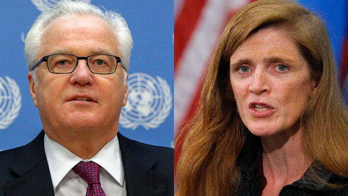 ​Pussy Riot wrangle: Churkin calls out Power in war of words