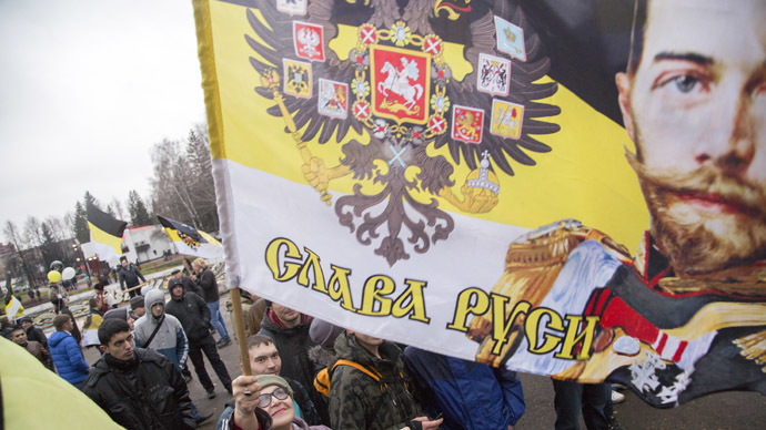 Nationalists seek to change Russian flag to Tsarist imperial standard