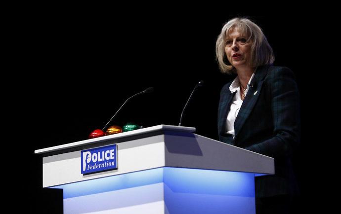 Britain's Home Secretary Theresa May (Reuters/Andrew Winning)
