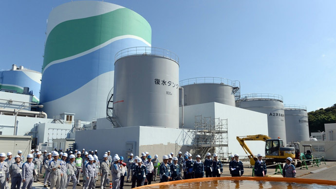 This picture taken on September 20, 2013 shows Kyushu Electric Power's Sendai nuclear power plant at Satsumasendai city in Kagoshima prefecture, Japan's southern island of Kyushu. (AFP Photo)