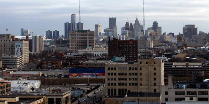 Detroit.(Reuters / Rebecca Cook)