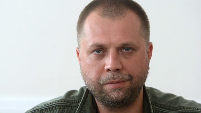 Prime Minister of the Donetsk People's Republic Alexander Boroday.(RIA Novosti / Mikhail Voskresenskiy)