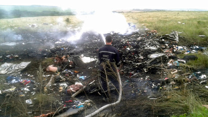 Reports that Putin flew similar route as MH17, presidential airport says 'hasn't overflown Ukraine for long time'