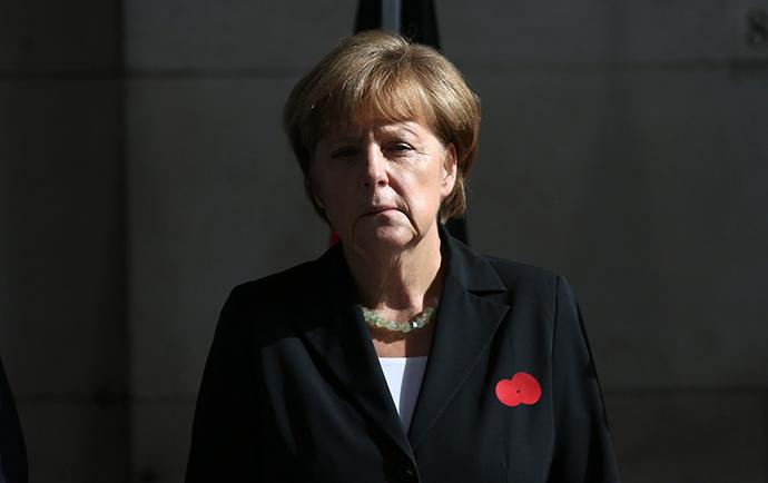 Germany's Chancellor Angela Merkel (Reuters / Francois Lenoir)
