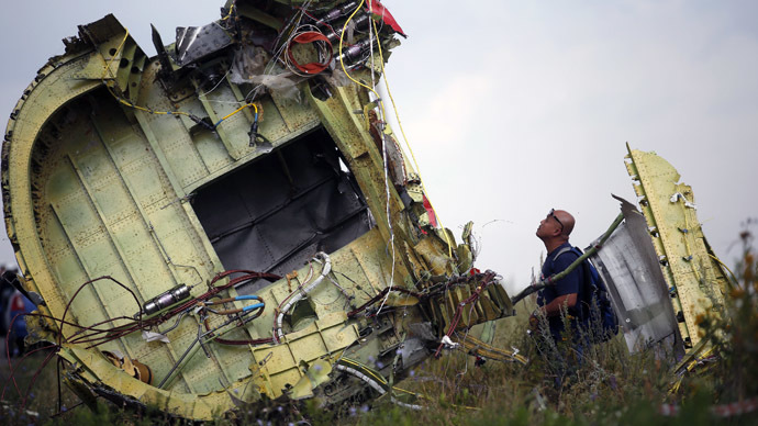 Malaysia Airlines MH17 crash caught on film (VIDEO)