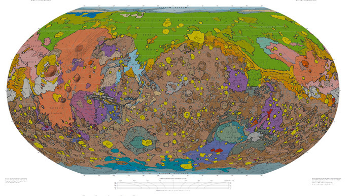 Scientists release most thorough map yet of Mars