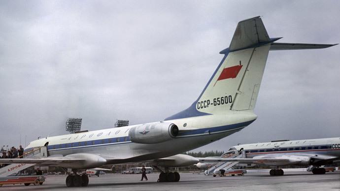 A Tu-134 aircraft at Vnukovo airport.(RIA Novosti / Vladimir Akimov)