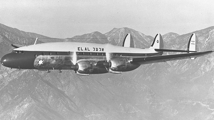 El Al L-049 Constellation similar to Flight 402.(Photo by Eldan David - www.gpo.gov.il)