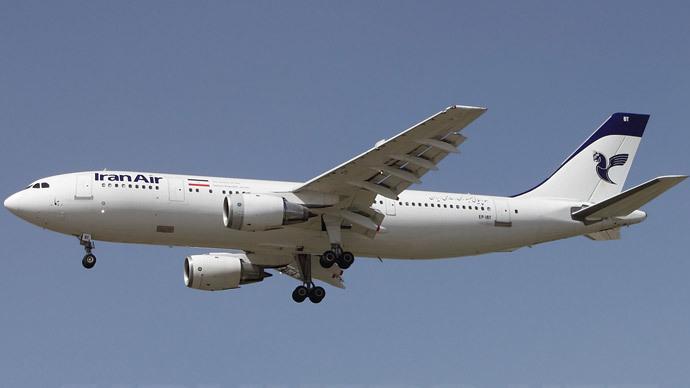 Iran Air, Airbus A300B2-203.(Photo by Khashayar Talebzadeh)