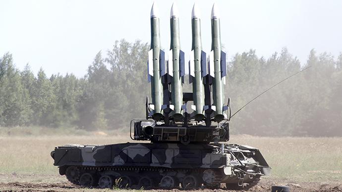 A Buk-2M missile system (RIA Novosti / Anton Denisov)
