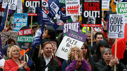 72 hours of strikes: UK unions launch public sector fightback in October