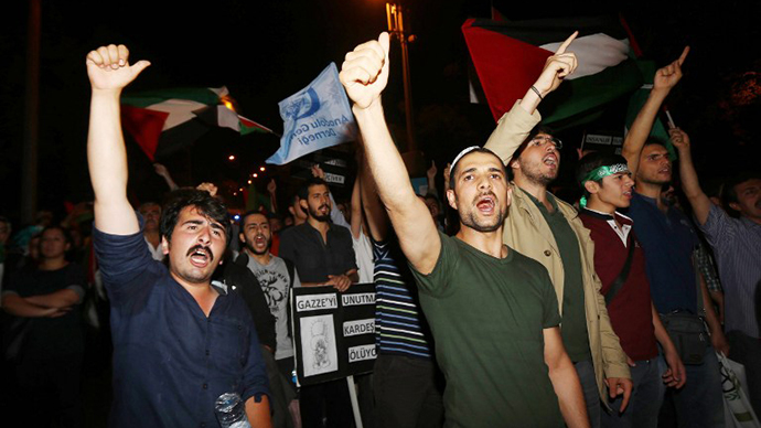 Gaza death toll passes 350 as world protests Israeli incursion