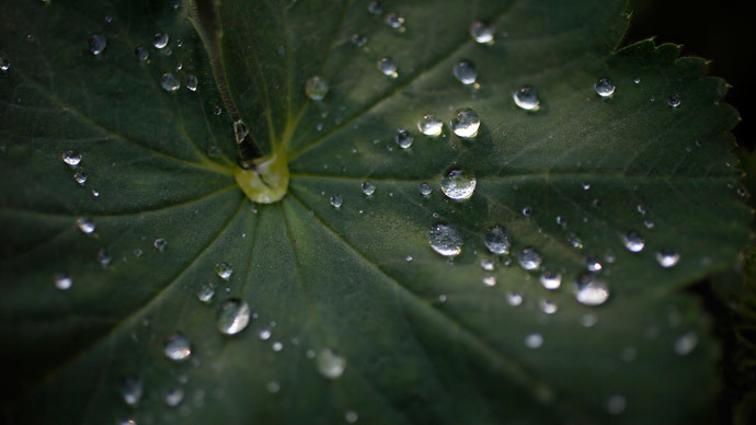 Future cell phones to recharge from air after rain?