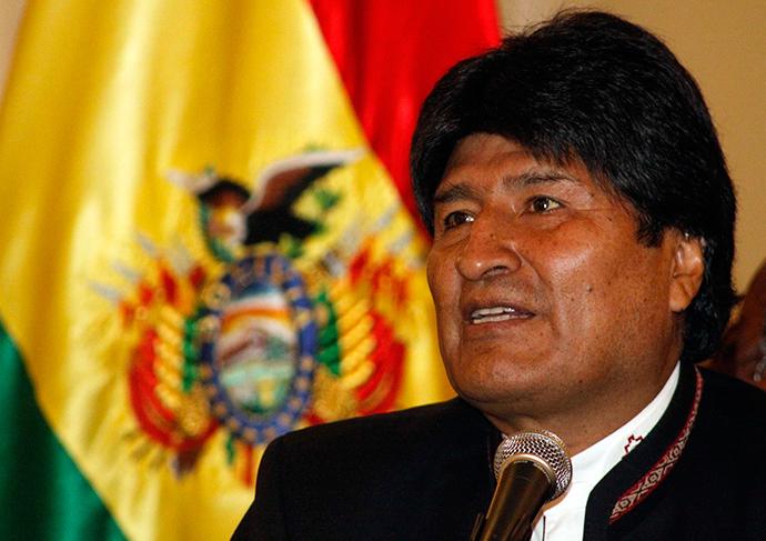 Bolivia's President Evo Morales (Reuters / Bolivian Presidency)
