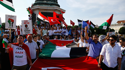 Israeli Gaza offensive inspires global rallies, Paris protest turns violent