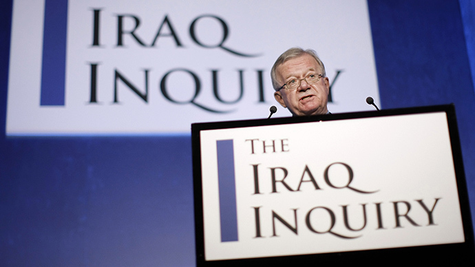 Iraq whitewash? Swathes of UK public inquiry findings suppressed