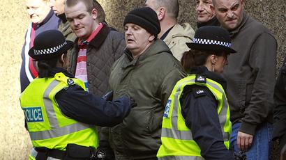 'Disturbing' rise in armed police across Scotland