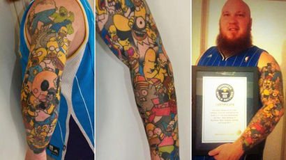 No tattoo if you want the job: Law firm warns body art can hurt career prospects