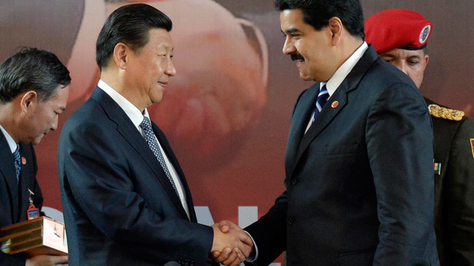 China secures Venezulan oil and gold deals, as President visits L.America
