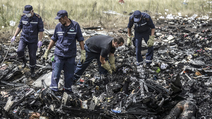 Ukraine air force strikes 30km from plane crash site despite ban - reports
