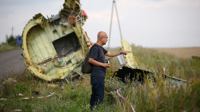 US intelligence: No direct link to Russia in Malaysia plane downing