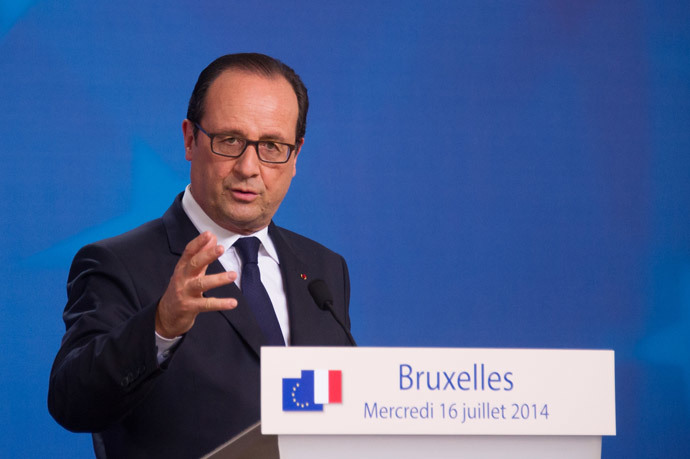 French President Francois Hollande (AFP Photo / Sebastien Bozon)