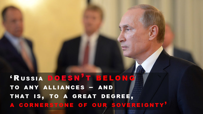 We will react to NATO build up! Key Putin quotes from defense policy address 13
