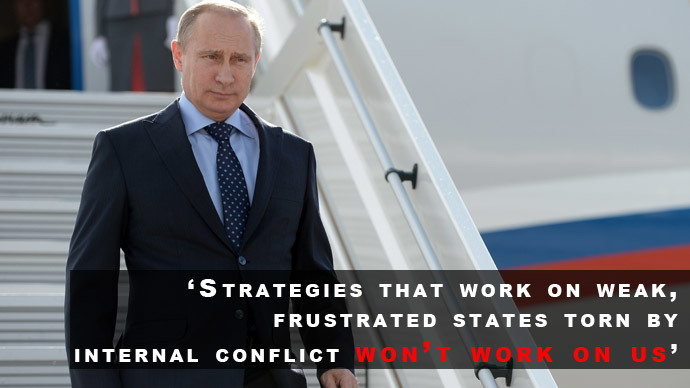 We will react to NATO build up! Key Putin quotes from defense policy address 6