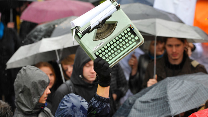 Old technology in NSA age: Typewriter sales surge in Germany