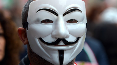 ​Anonymous 'knocks out' Mossad website over Israel's Gaza offensive