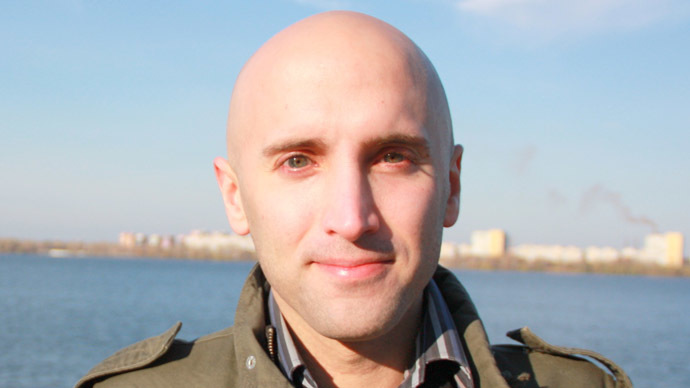 UK journalist and RT contributor Graham Phillips (Photo from grahamwphillips.com)
