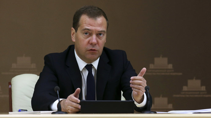 Ukrainian crisis will not split Russia and Europe - Medvedev
