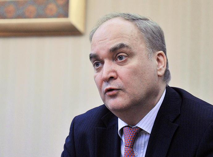 Russian Deputy Defense Minister Anatoly Antonov (RIA Novosti / Vladimir Pesnya)