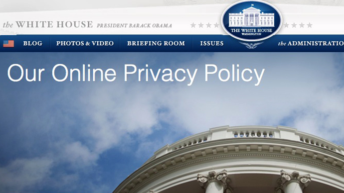 White House tracking website visitors with online 'fingerprinting'