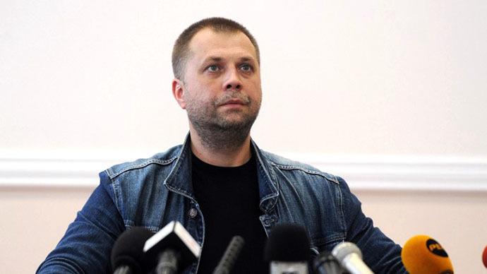 The Donetsk People's Republic's Prime Minister Aleksandr Boroday (AFP Photo / Dominique Faget)